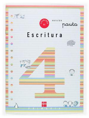 2EP.CUAD.ESCRITURA 4 V.PAUTA 04