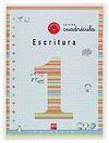 CUADERNO 1 DE ESCRITURA, CUADRÍCULA. 1 PRIMARIA