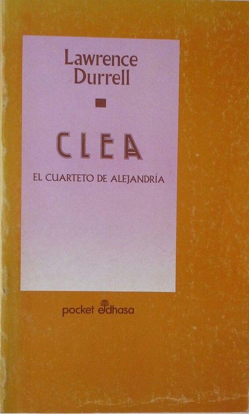 CLEA. EL CUARTETO DE ALEJANDRIA CLEA