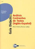 ANÁLISIS CONTRASTIVO DE TEXTOS INGLÉS-ESPAÑOL