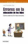 ERRORES EN LA EDUCACIÓN DE LOS HIJOS