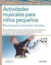 ACTIVIDADES MUSICALES PARA NIÑOS PEQUEÑOS