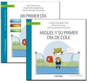 MIGUEL Y SU PRIMER DIA DE COLE