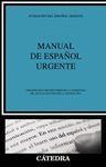 MANUAL DE ESPAÑOL URGENTE