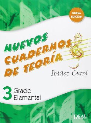 NUEVOS CUADERNOS DE TEORIA GRADO ELEMENTAL 3