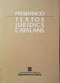 TEXTOS JURIDICS CATALANS
