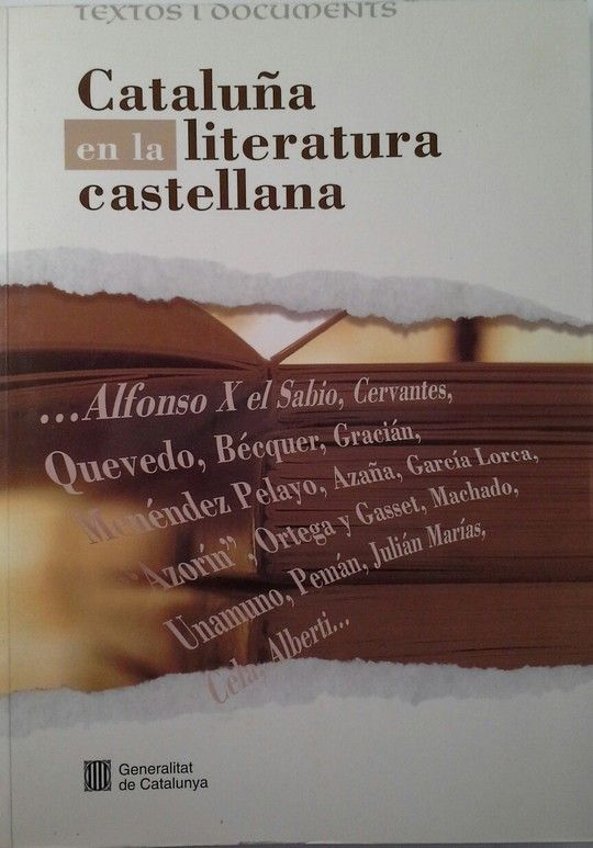 CATALUÑA EN LA LITERATURA CASTELLANA
