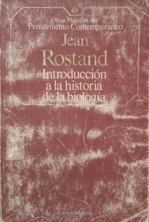 INTRODUCCIÓN A LA HISTORIA DE LA BIOLOGÍA