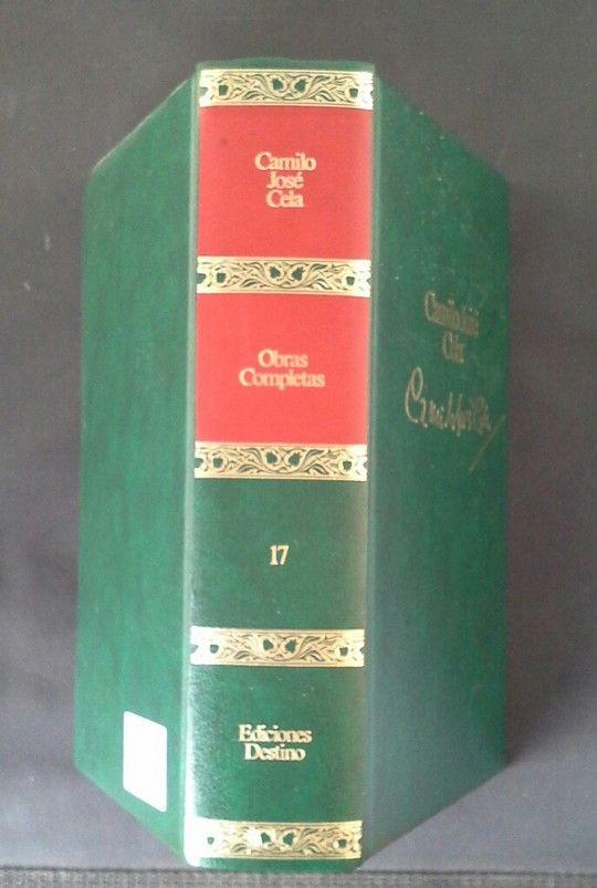 OBRAS COMPLETAS. T.17