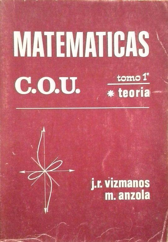 MATEMATICAS C. O. U. TEORIA