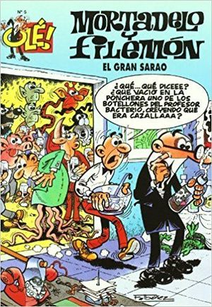 MORTADELO Y FILEMÓN 5. EL GRAN SARAO