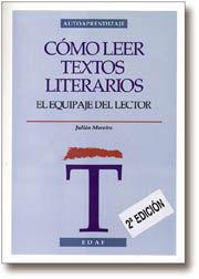 CÓMO LEER TEXTOS LITERARIOS