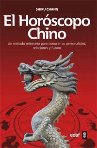 EL HORÓSCOPO CHINO
