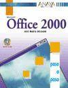 OFFICE 2000 PROFESSIONAL. PASO A PASO