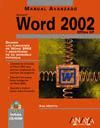 MANUAL AVANZADO MICROSOFT WORD 2002 OFFICE XP