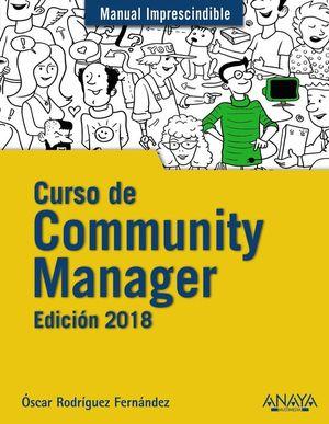 CURSO DE COMMUNITY MANAGER. EDICION 2018