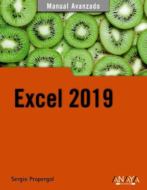 EXCEL 2019. MANUAL AVANZADO