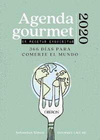 AGENDA GOURMET 2020: 366 DIAS PARA COMERTE EL MUNDO