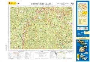 MTN25. MAPA TOPOGRAFICO 120-II EXTRAMUNDI DE ABAIXO