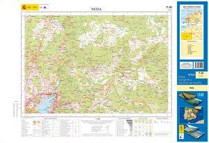 MTN25. MAPA TOPOGRAFICO 7-III NEDA