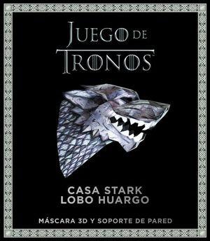 JUEGO DE TRONOS CASA STARK LOBO HUARGO