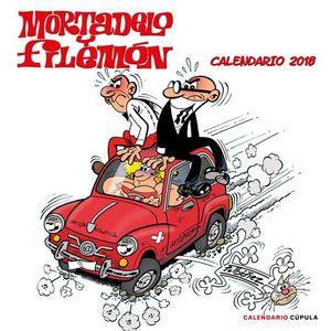 CALENDARIO MORTADELO Y FILEMON 2018