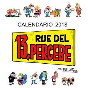 CALENDARIO 13 RUE DEL PERCEBE 2018