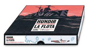 HUNDIR LA FLOTA. JUEGO DE GUERRA NAVAL