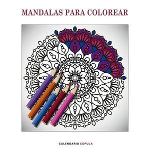 CALENDARIO MANDALAS PARA COLOREAR 2019