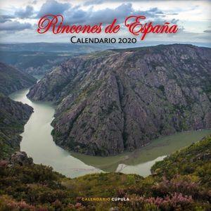 CALENDARIO RINCONES DE ESPAÑA CON ENCANTO 2020
