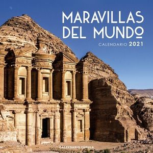 CALENDARIO MARAVILLAS DEL MUNDO 2021