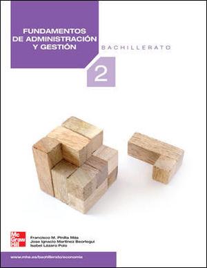 FUNDAMENTOS DE ADMINISTRACION Y GESTION. 2 BACHILLERATO