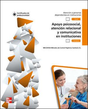 CERT - APOYO PSICOSOCIAL AT RELACIONAL Y COMUNICATIVA EN INSTITUCIONES.LIBRO CERTIFICADO