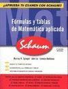 FORMULAS Y TABLAS MATEMATICA APLICADA