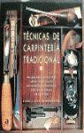 TECNICAS DE CARPINTERIA TRADICIONAL (CARTONE)