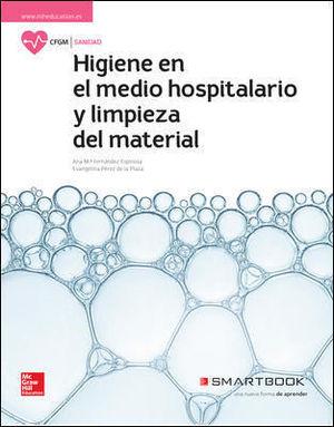 HIGIENE DEL MEDIO HOSPITALARIO. LIBRO ALUMNO + SMARTBOOK.