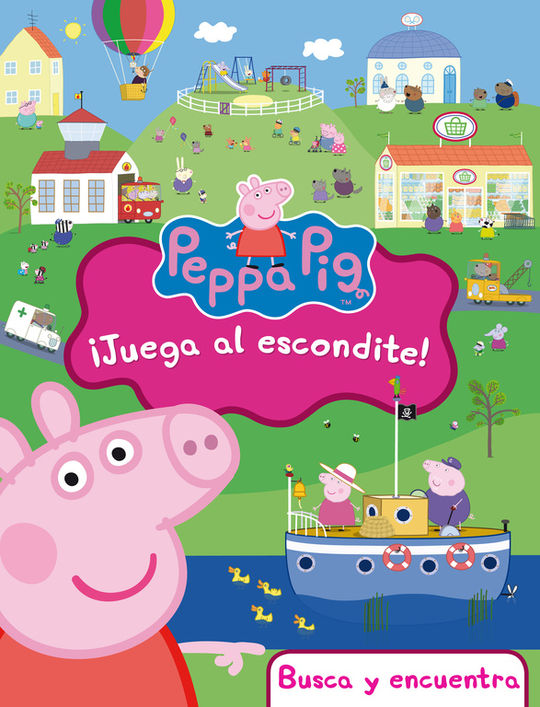 ¡JUEGA AL ESCONDITE! (PEPPA PIG. DIDÁCTICOS)