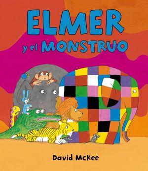 ELMER Y EL MONSTRUO (ELMER. ÁLBUM ILUSTRADO)