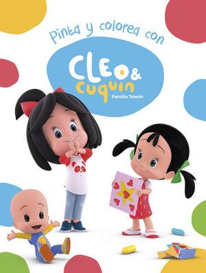 PINTA Y COLOREA CON CLEO Y CUQUÍN