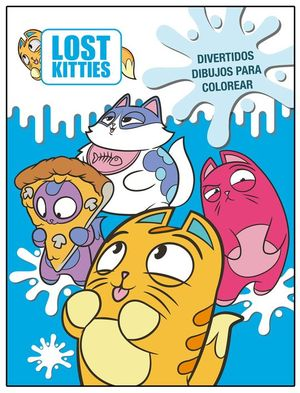 LOST KITTIES DIVERTIDOS DIBUJOS PARA COLOREAR