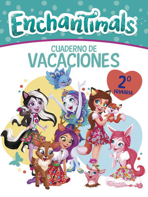 CUADERNO VACACIONES ENCHANTIMALS 2º PRIMARIA