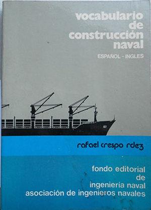 VOCABULARIO DE CONSTRUCCION NAVAL