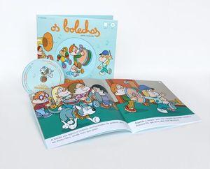 OS BOLECHAS FAN UNHA BANDA (LIBRO + CD)