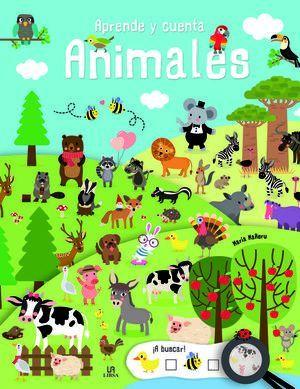 APRENDE Y CUENTA ANIMALES
