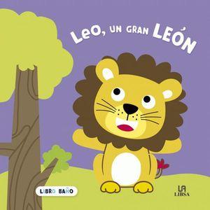 LEO, UN GRAN LEON. LIBRO BAÑO