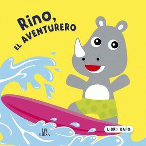 RINO, EL AVENTURERO. LIBRO BAÑO