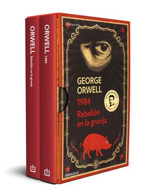 PACK GEORGE ORWELL (REBELION EN LA GRANJA / 1984)