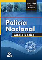 POLICIA NACIONAL ESCALA BASICA SIMULACROS EXAMENES