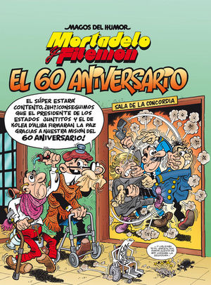 MORTADELO Y FILEMON Nº 182. EL 60 ANIVERSARIO