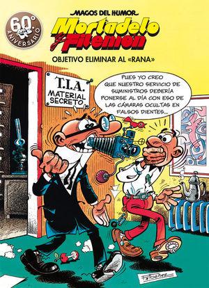 MAGOS DEL HUMOR MORTADELO Y FILEMON Nº 190: OBJETIVO ELIMINAR AL